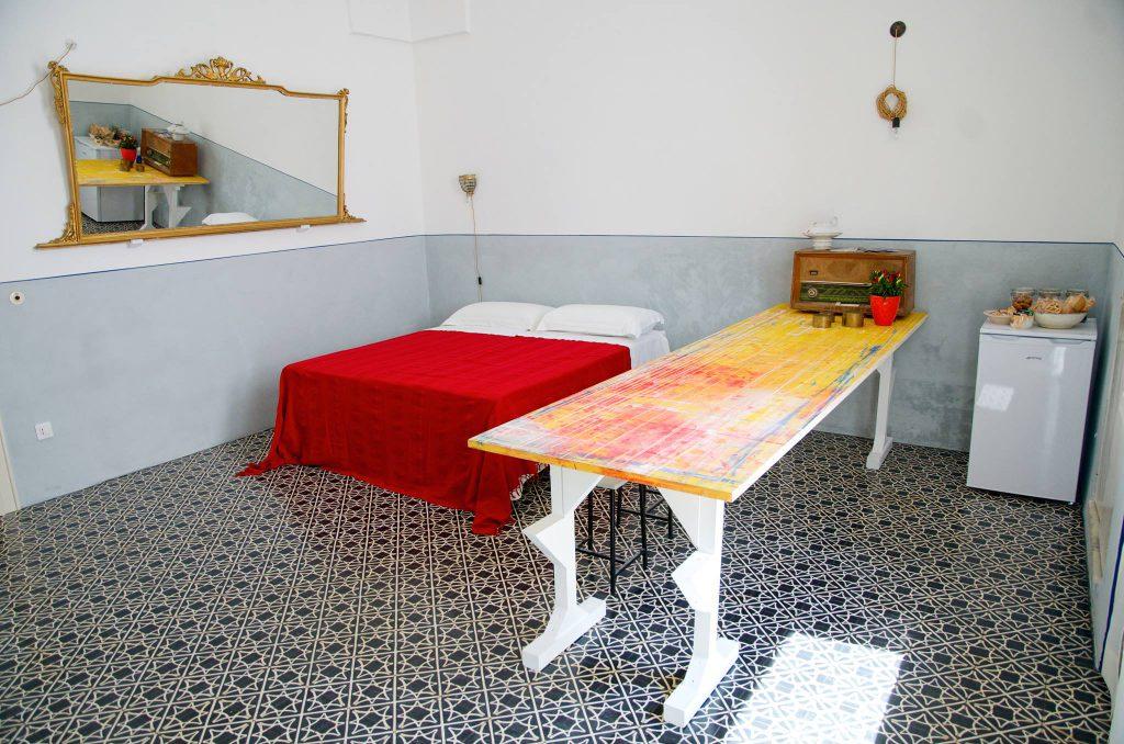 Der Wohn-Schlaf-Bereich in Presicce -  Deine Auszeit in Apulien